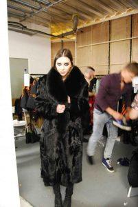 Rebecca Hermes Designs Fur Coat