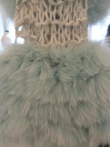 Textured Fur at Saga Furs Young Designers Seminar.