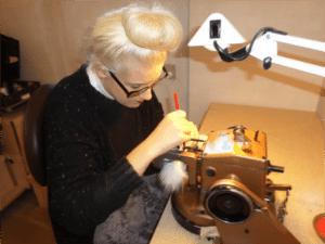 Kelli McGuinness Saga Furs Young Designers Seminar.