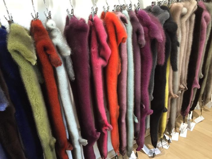 Types of Fur used in Fur Summer School Greece