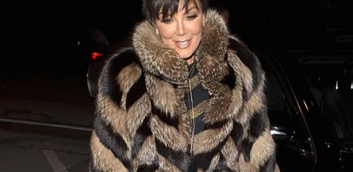 Kris Jenner, Celebrities in Fur