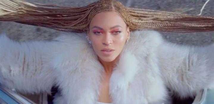 Beyonce in Fendi Fur, International Fur Federation