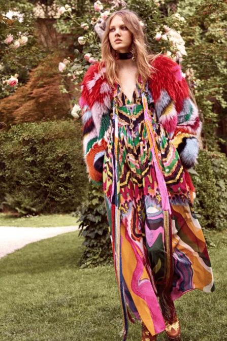 Roberto Cavalli Resort 2017, Fur fashion trends