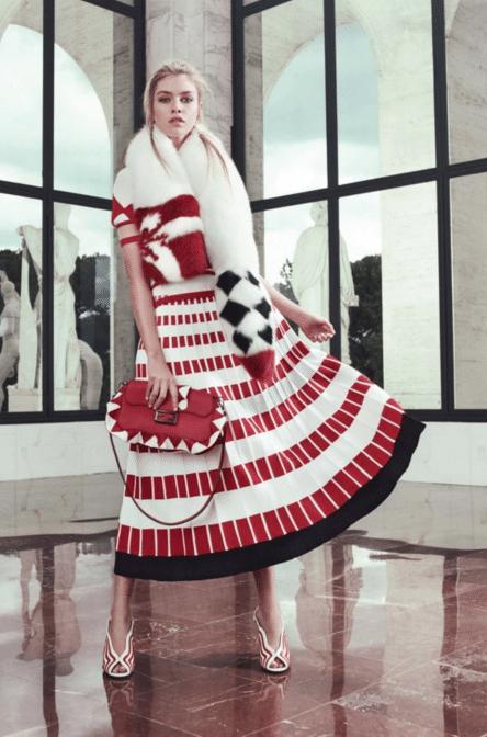 Fendi SS 2017 Resort, Fur Style Fashion