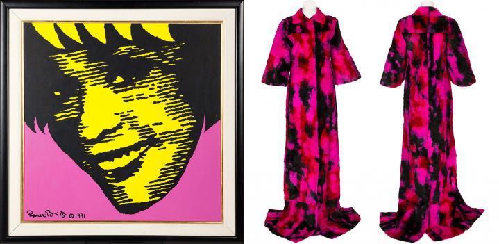 Whitney Houston's Fur Coat