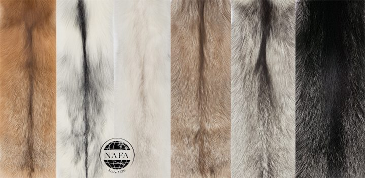 Fox Pelts from North American Fur Auctions (NAFA)