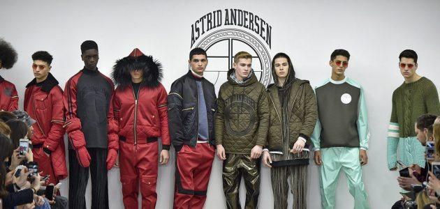 Astrid Andersen FW 2016, Menswear, Fur Trend