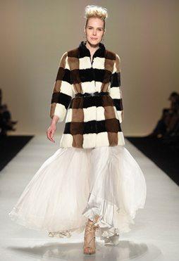 Farley Chatto Runway models fur