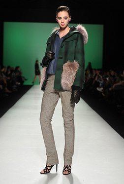 Farley Chatto Womenswear Fur Style Models