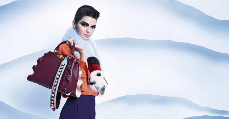 Fendi Fur Style Kendall Jenner Karl Lagerfeld