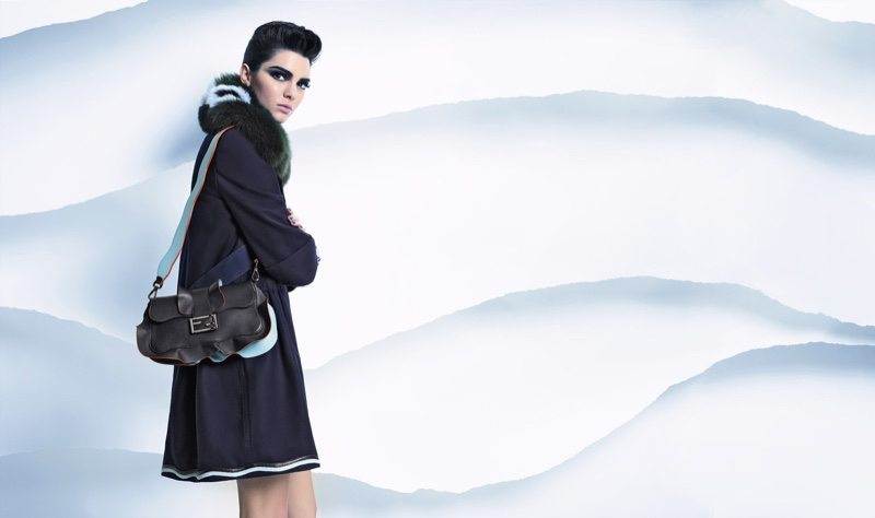 Fendi FW 2016 Ad Campaign Fur Style Kendall Jenner