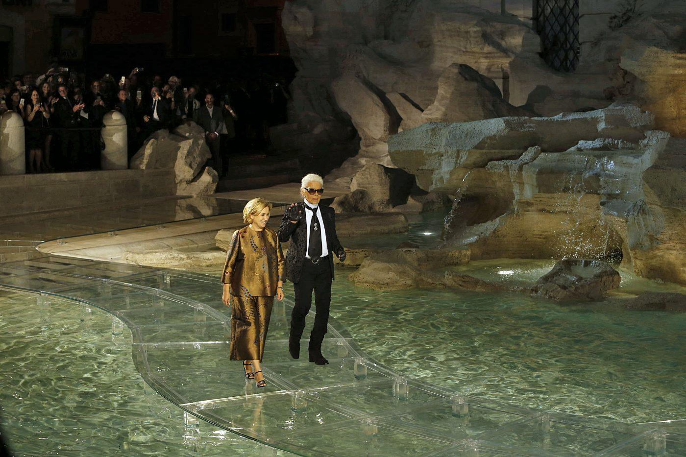 Fendi Legends & fairytales Silvia Fendi Karl Lagerfeld