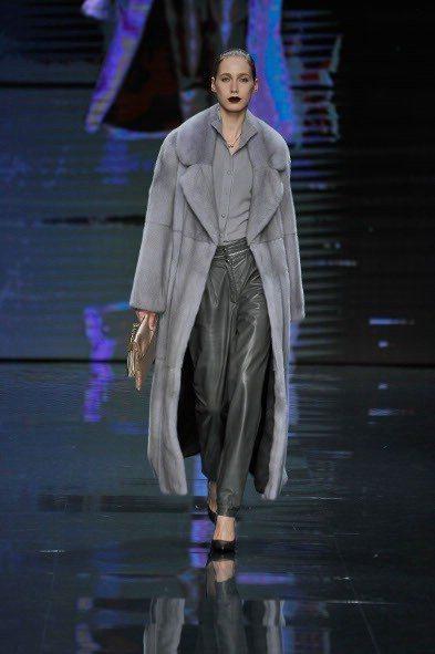 Maurizio Braschi MiFur Womenswear NAFA models