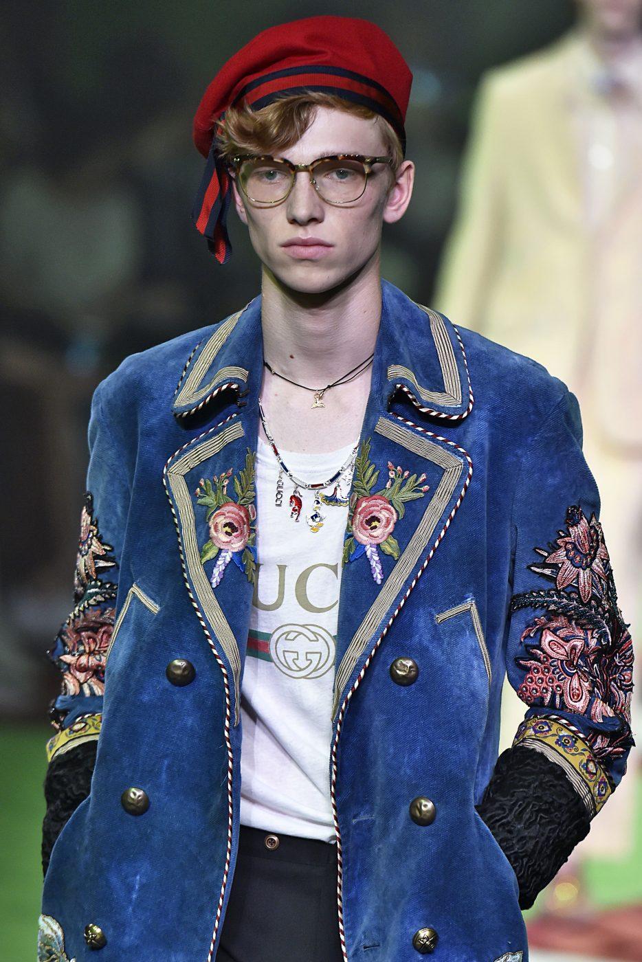 Gucci Fur Menswear SS 2017