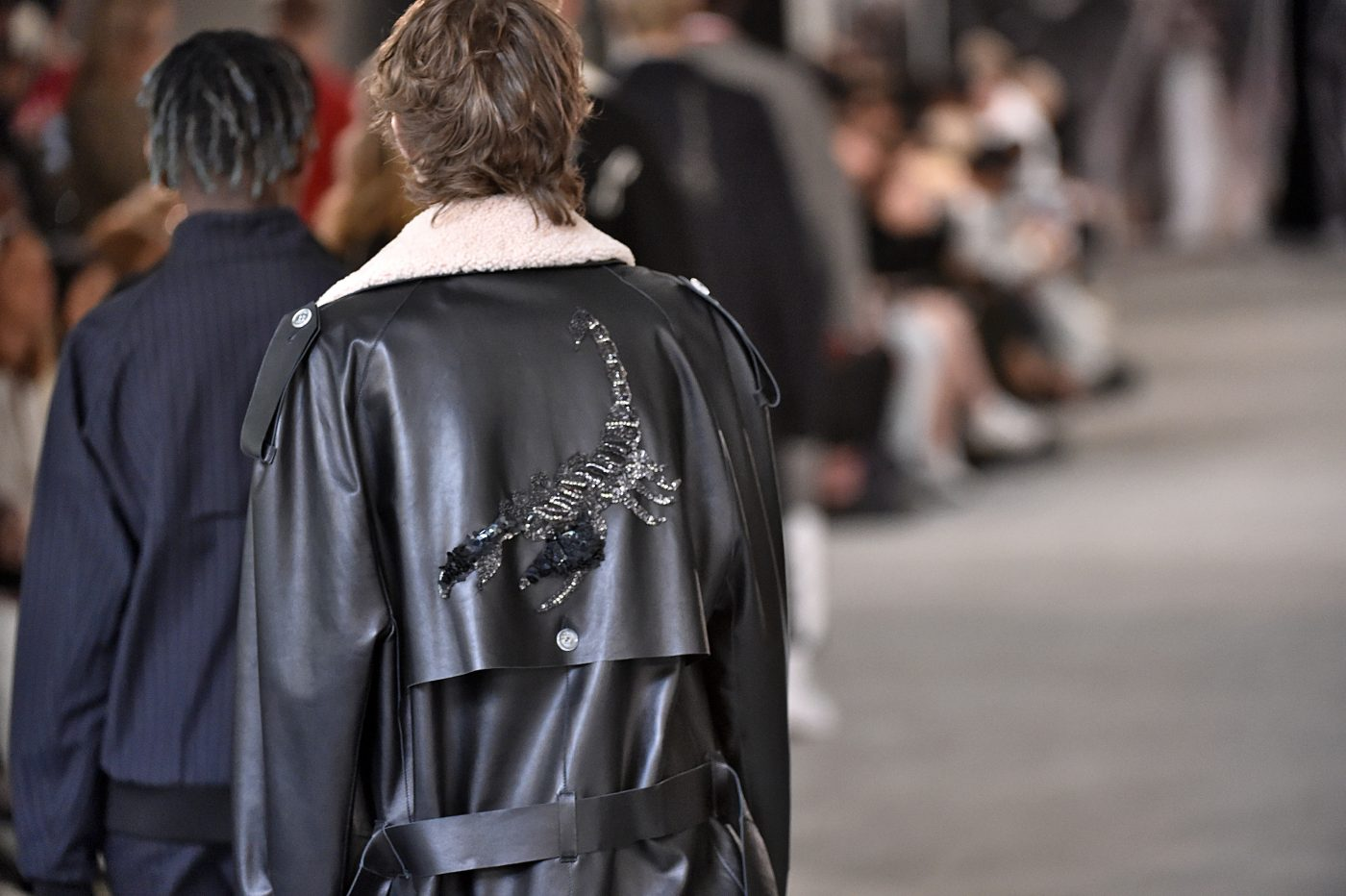 Off-White Paris Fashion Week Fur Runway SS 2017
