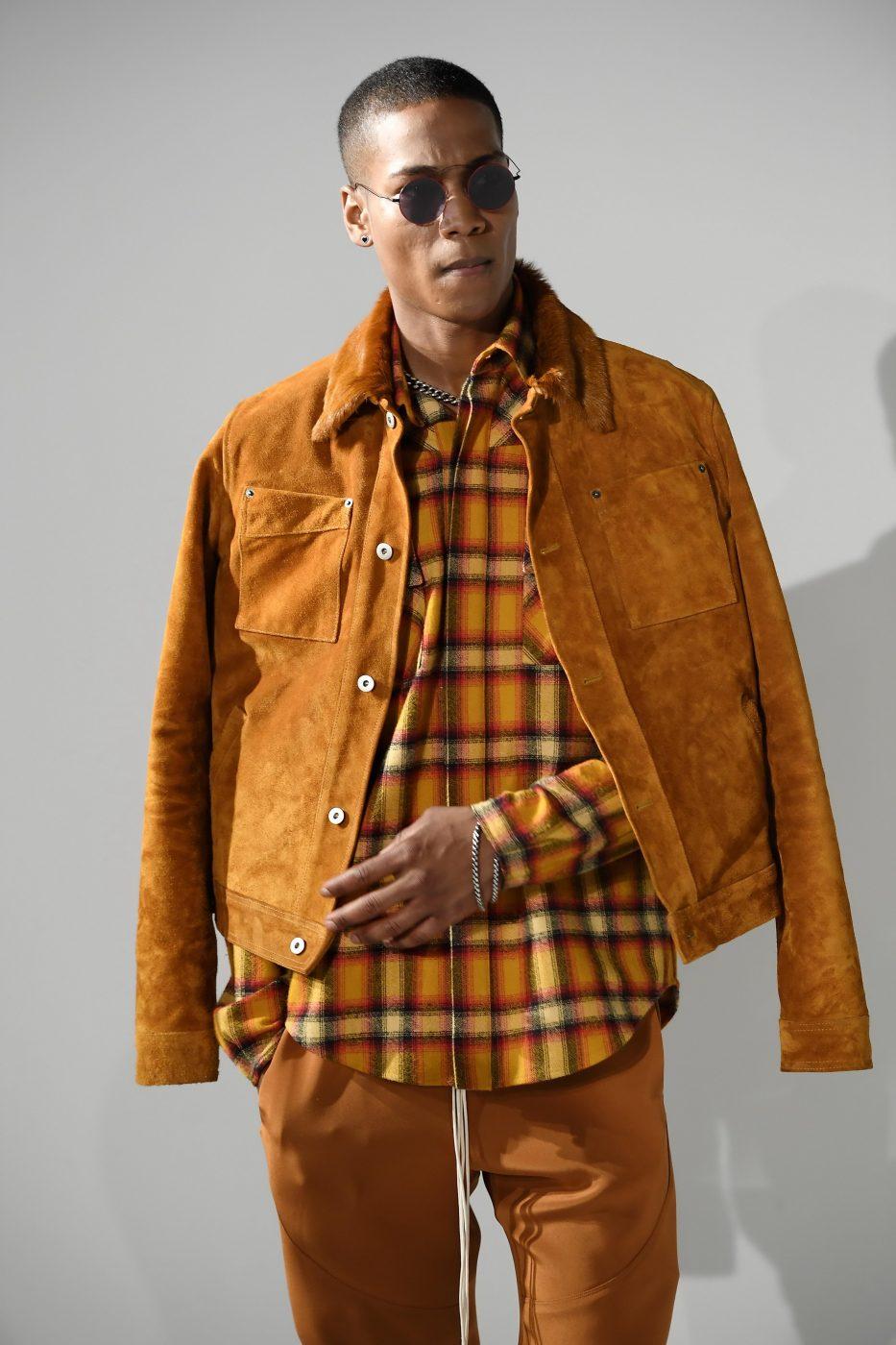 Rideau Menswear SS 2017 Fur