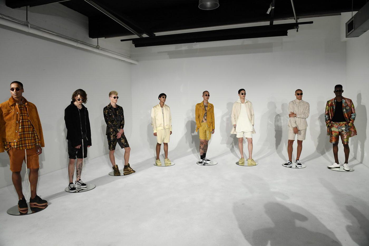 Rideau menswear SS 2017