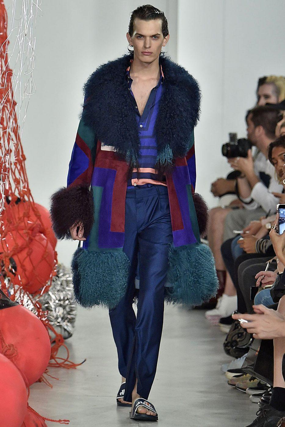 Katie Eary Jacket Menswear SS 2017