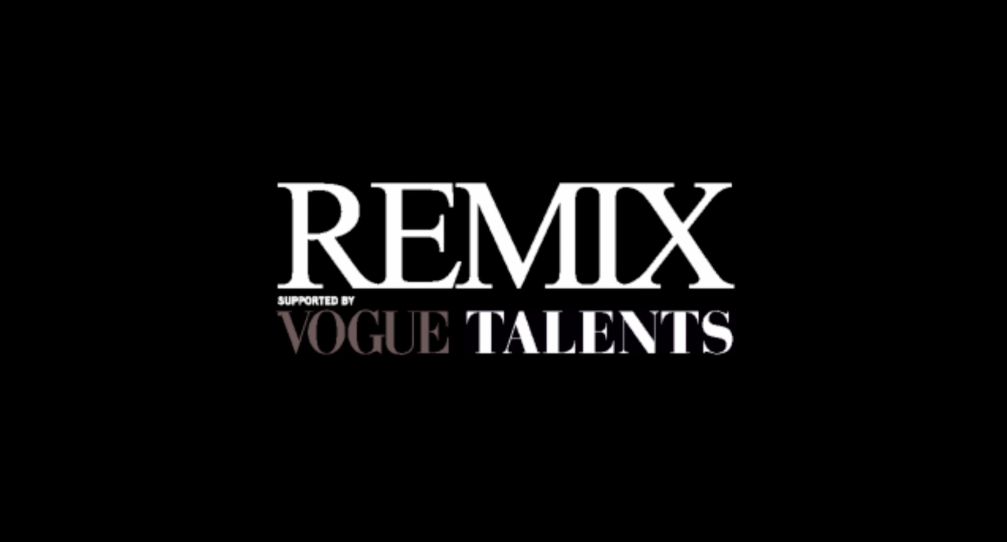 Remix supported by Vogue Talents