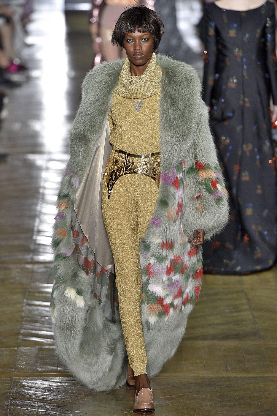 Ulyana Sergeenko FW 2016 - 2017 Haute Couture Paris We Are Fur