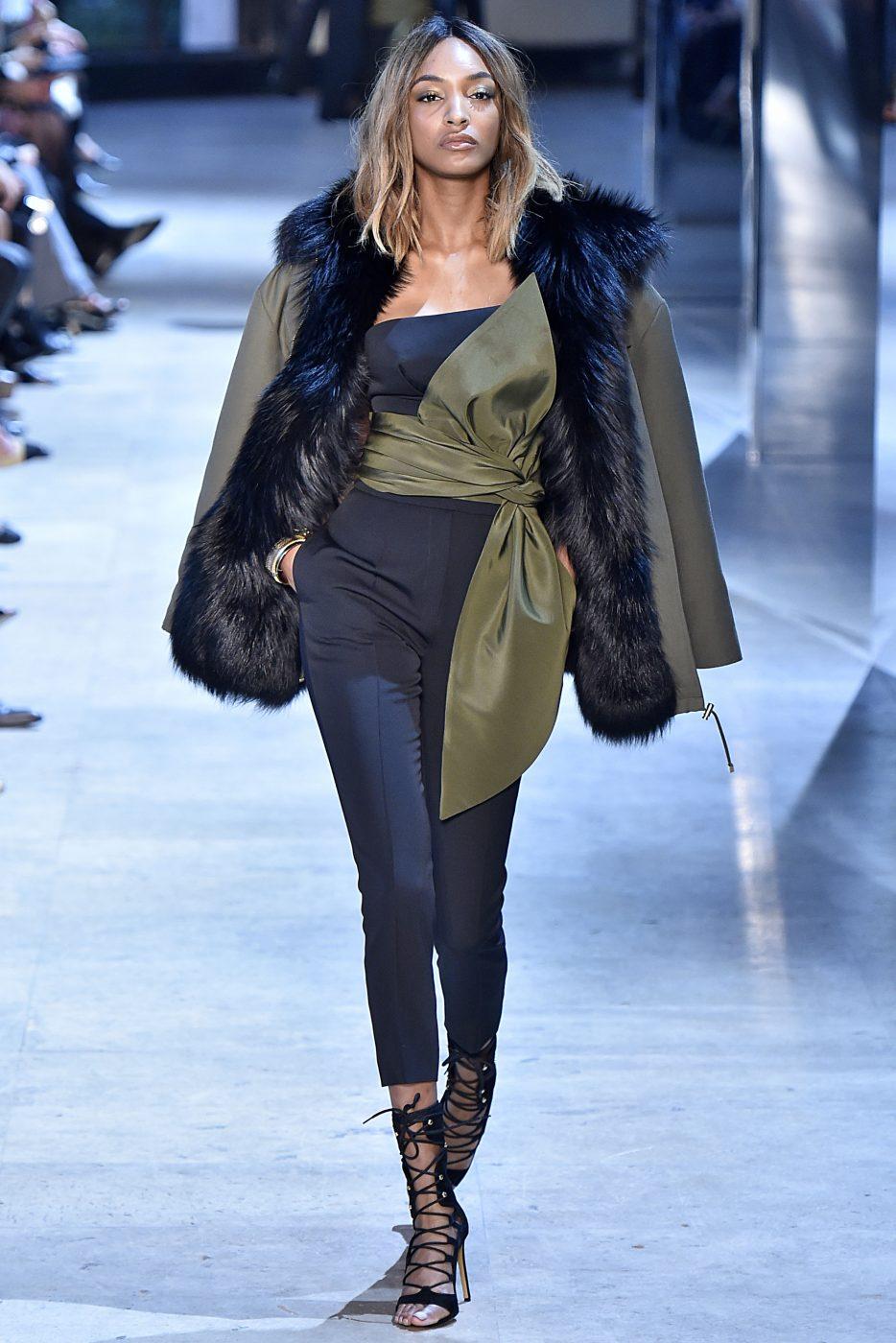 Alexandre Vauthier Fur Style Runway Haute Couture Paris