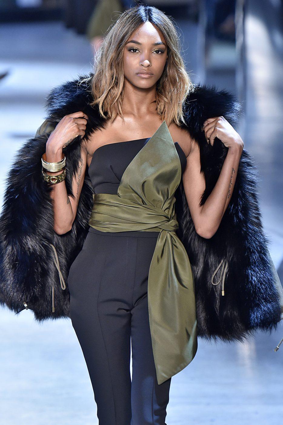 Alexandre Vauthier Fur Style Runway