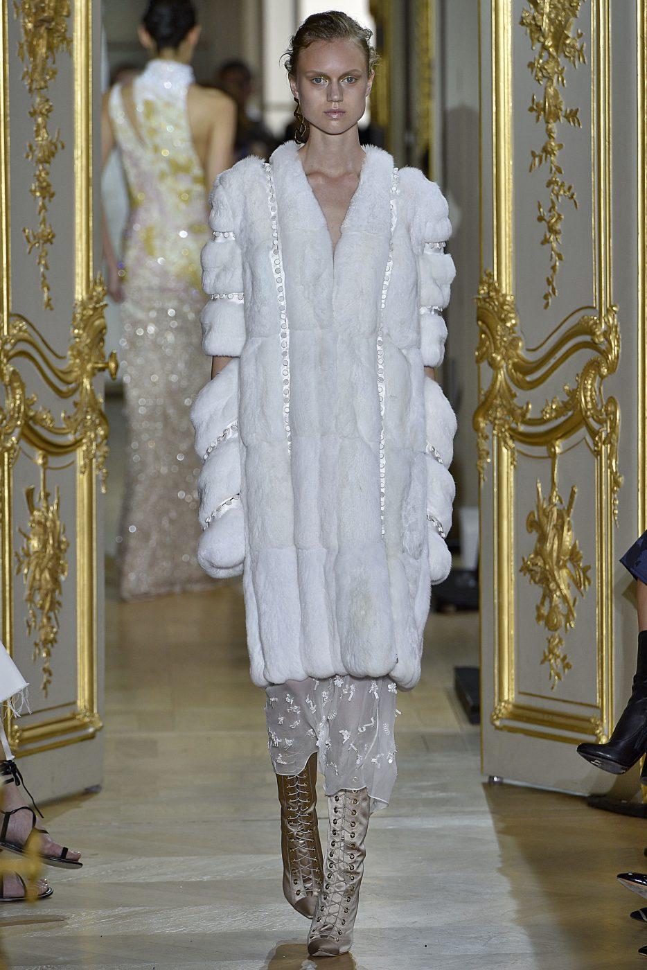 J Mendel Fall Winter 2016 Fur Style Haute Couture Paris