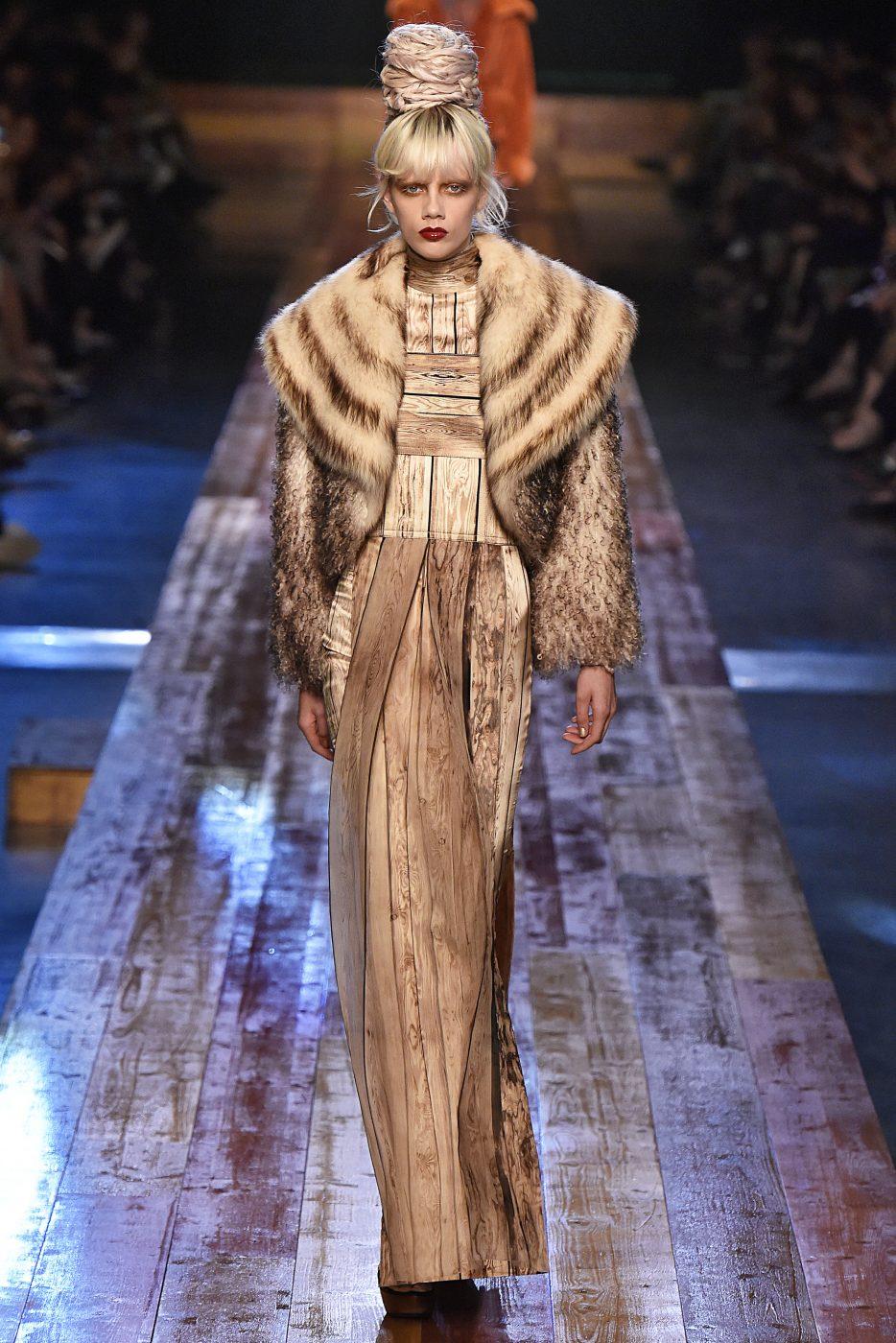 Jean Paul Gaultier Fall Winter 2106 Haute Couture Fur