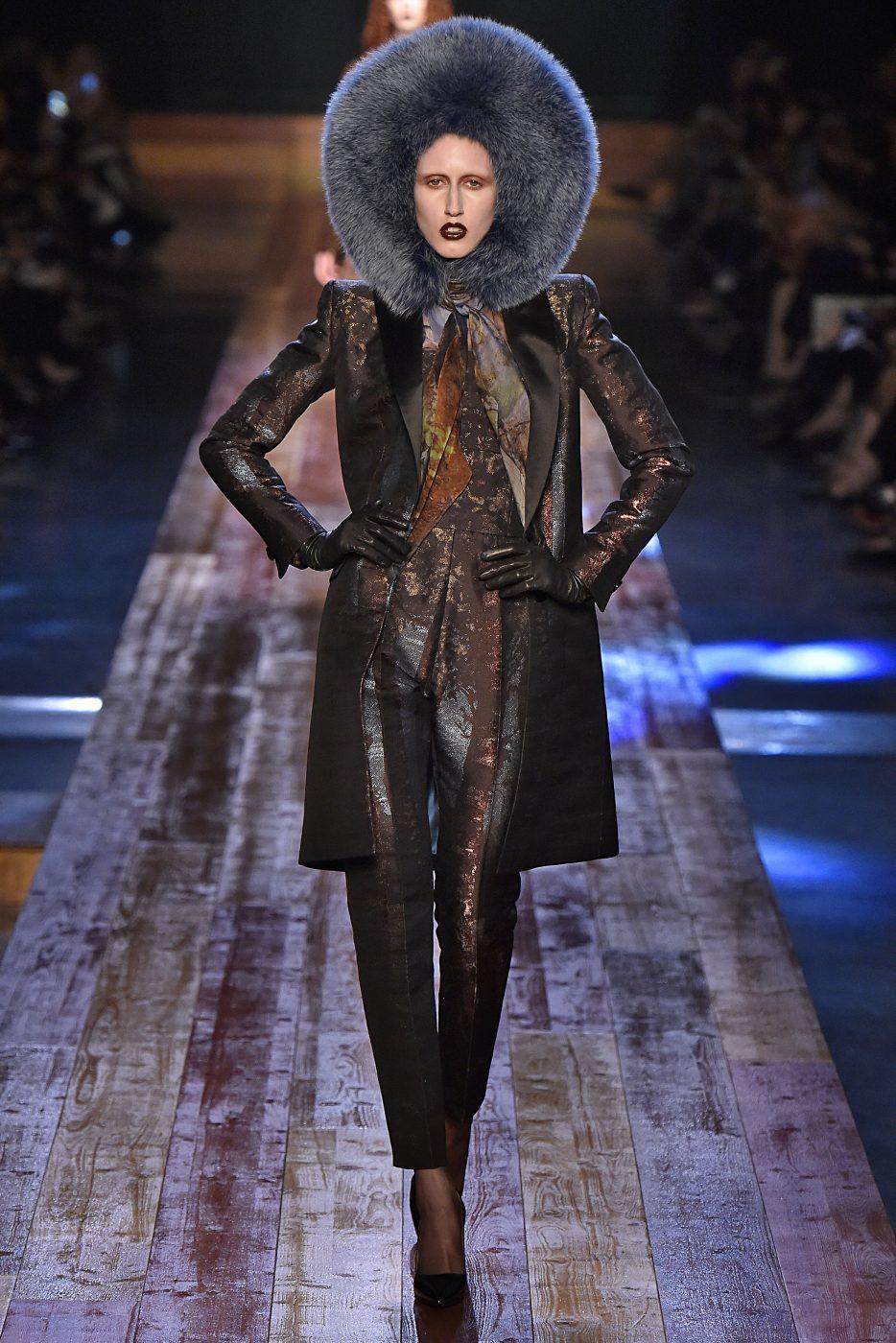 Jean Paul Gaultier Fall 2016 Haute Couture Paris Fur