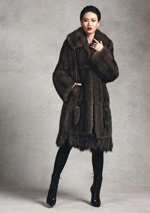 Sable Coat Ralph Rucci Fur