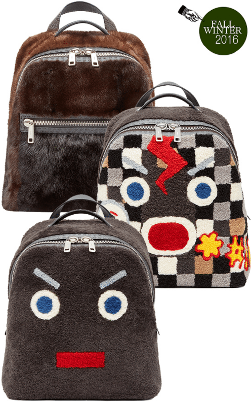 Fendi Back Packs