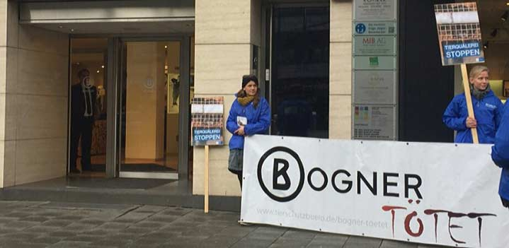 Bogner Fur Protest