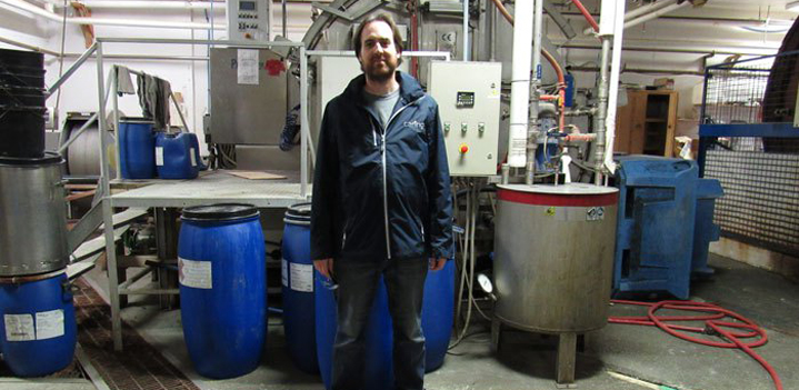 Jason, of Carino Processing Limited, a Trinity Bay plant