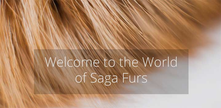Saga Furs 'Precious'