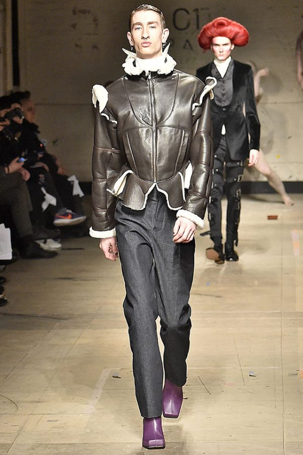 Charles Jeffrey MAN London Menswear Fall Winter 2017 January 2017 Fur