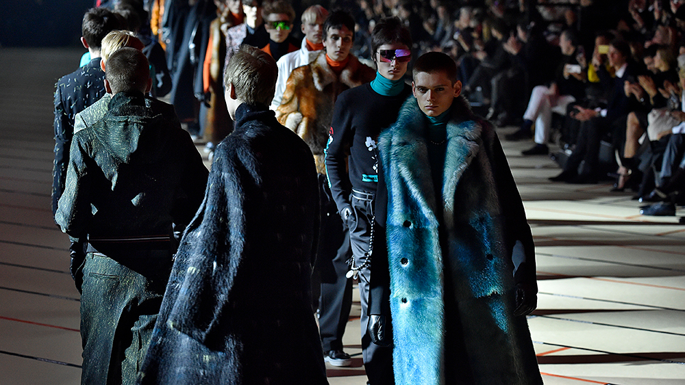 Dior Homme FW 2017, The Fur Guru