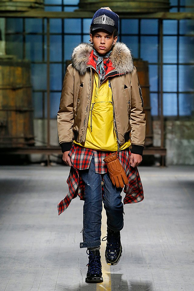 Dsquared2 Milan Menswear Fall Winter 2017