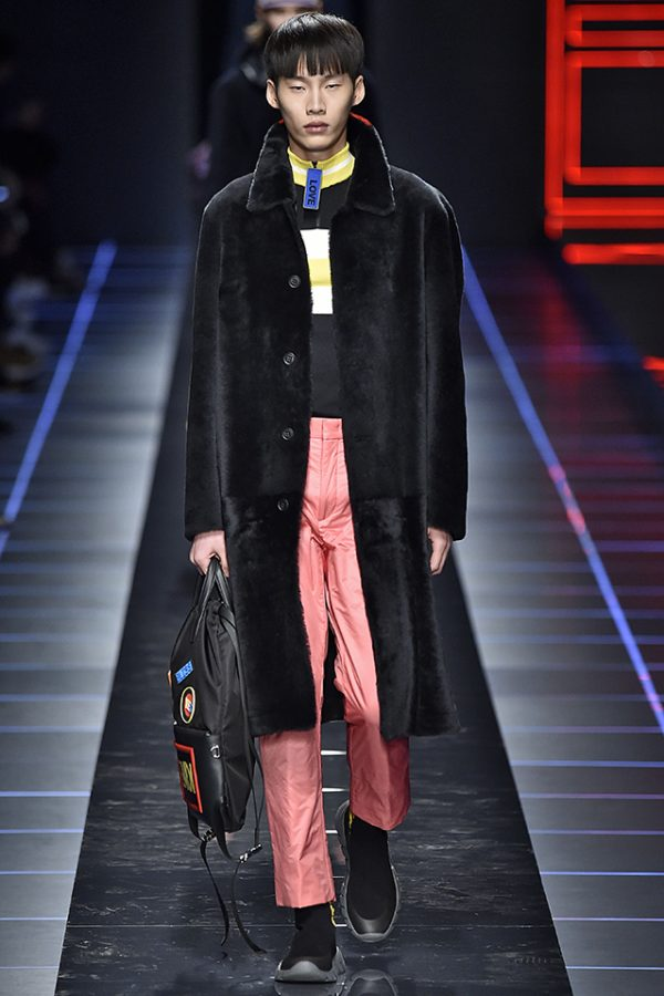 Fendi Milan Menswear Fall Winter 2017