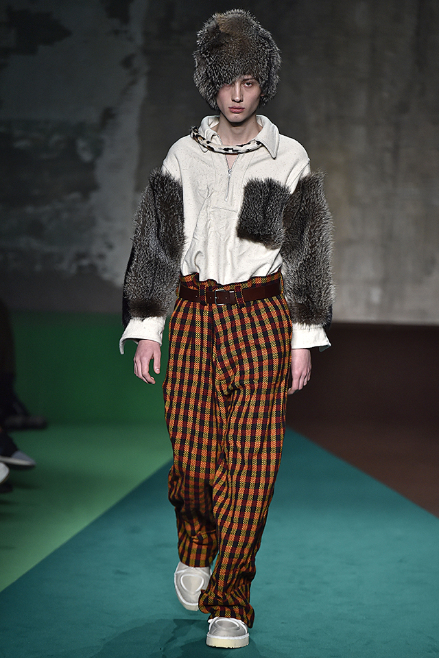 Marni Milan Menswear Fall Winter 2017