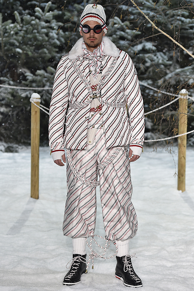 Moncler Gamme Bleu Milan Menswear Fall Winter 2017