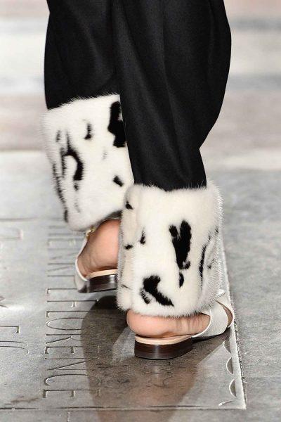 Liam Hodges FW 2017, IFF, fur, London Fashion week