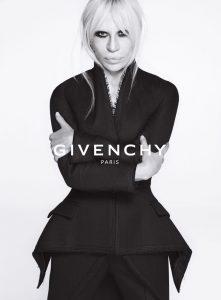 Donatella Versace, Givenchy, Riccardo Tisci