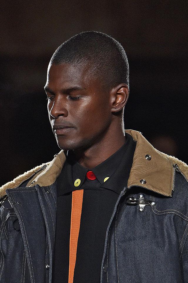 Givenchy Paris Menswear Fall Winter 2017 Close Up Shearling Trim