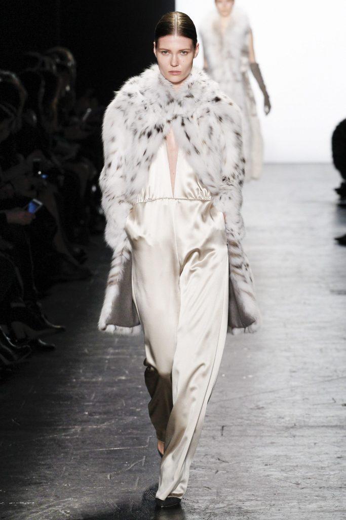 Dennis Basso NYFW Fur