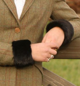 Storm cuffs, mink, accessories, fur