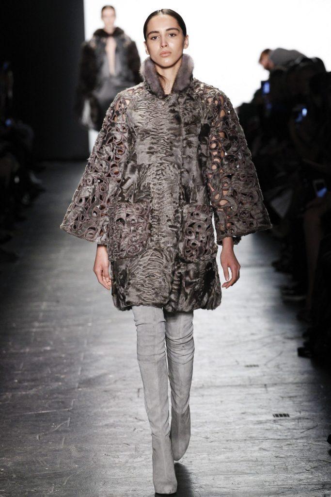 Dennis Basso NYFW Fur Swakara