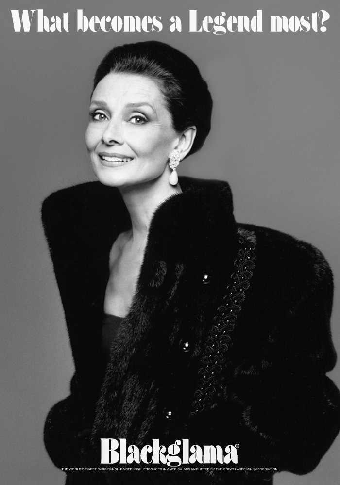 Audrey Hepburn Photographed by Bill King 1987