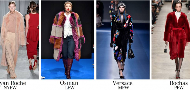 Fur, Shearling Numbers Catwalk, Ready to Wear 2017
