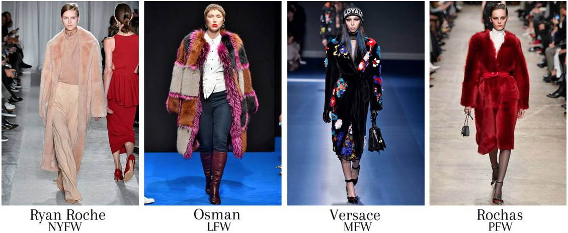 numbers on fur in fashion weeks 2017
