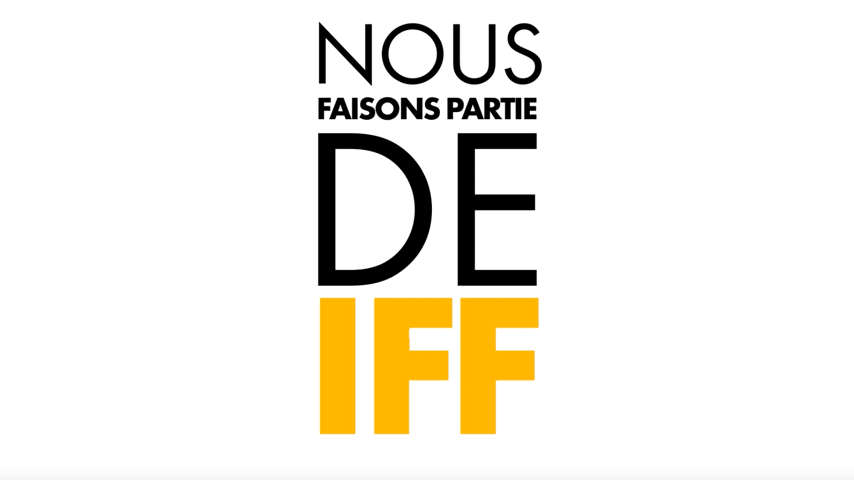 Nous Faisons Partie de IFF, International Fur Federation
